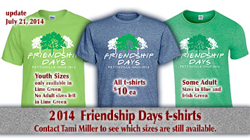 Friendship Days t-shirt